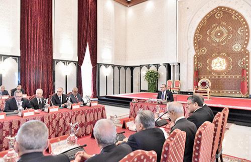 SM le Roi préside à Tanger un conseil des ministres