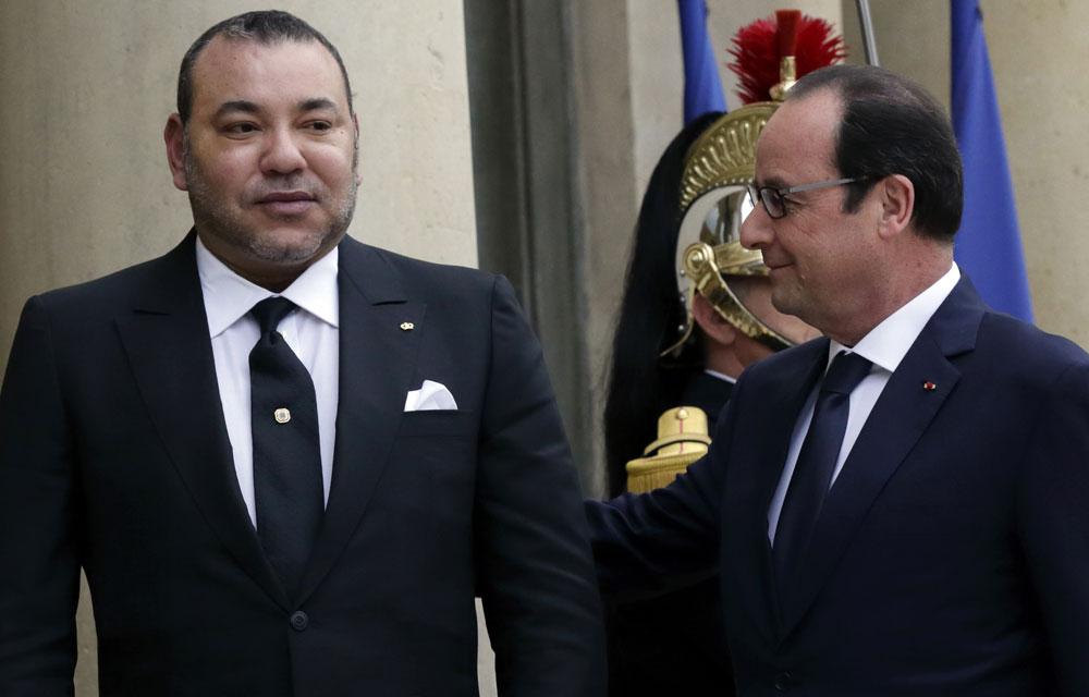 Francois-Hollande-Mohammed-VI