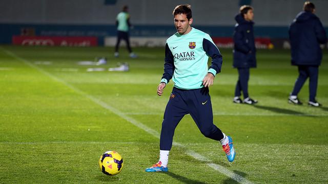 Messi  officiellement absent lors du match amicale Maroc-Argentine