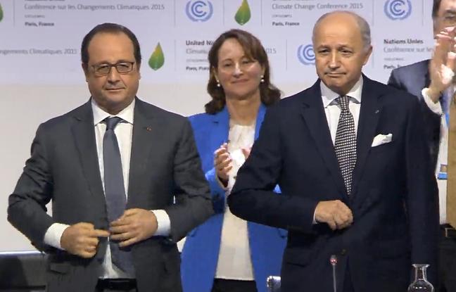 COP21 Hollande Fabius