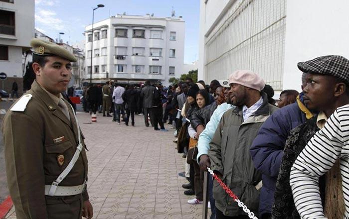 Journ  e mondiale du r  fugi    Le Maroc  un havre d asile et de paix