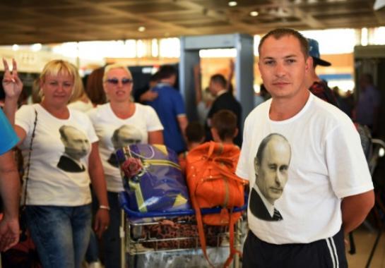 touriste russe