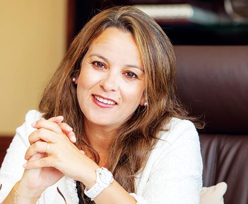 Charafat Afilal, ministre déléguée chargée de l'Eau