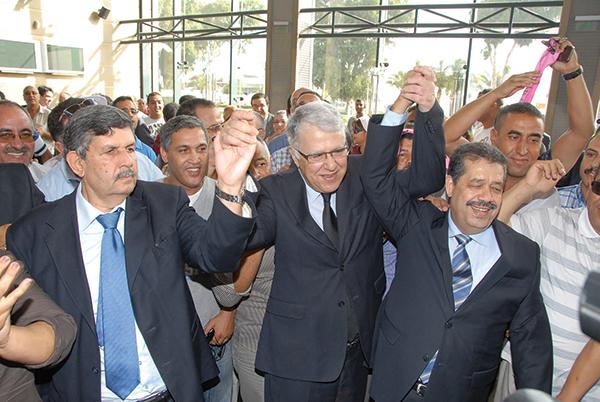 Abdelwahed El Fassi, Abbas El Fassi et Hamid Chabat