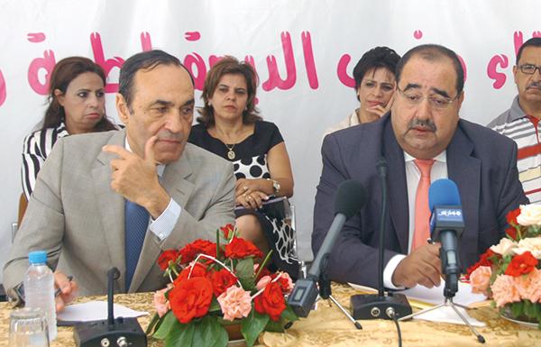 Habib El Malki et Driss Lachgar.