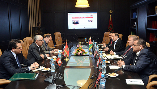 Rachid_Talbi_Alami_Delegation_parlement_jordanien