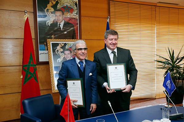 Signature-Rabat-convention-partenariat-OIT
