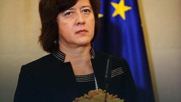 Vice-ministre polonaise des affaires étrangères, Johanna Wroencka. © ph : DR