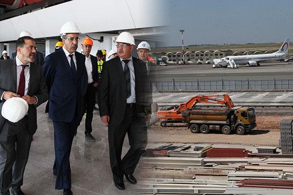 Rebbah-visite-chantier-renovation-aeroport-Casablanca2