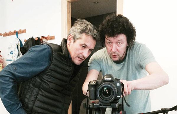 Les journalistes Jean-Louis Perez et Pierre Chautard. (Photo DR)