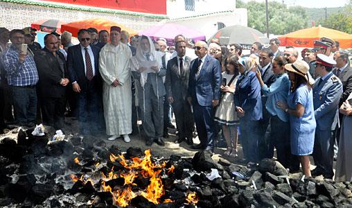 Ouezzane-juifs-affluent-Asjen-hiloula