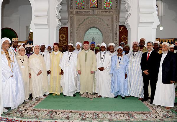 Installation-CS--Fondation-Mohammed-VI-oulemas-africains