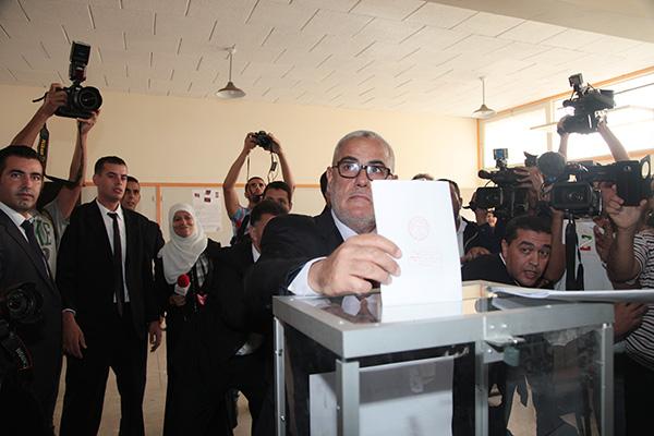 Le Secrétaire général du Parti de la Justice et du développement (PJD), M. Abdelilah Benkirane