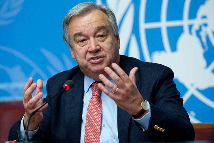 Coronavirus   l ONU propose un plan d aide de 2 milliards de dollars pour les pays pauvres