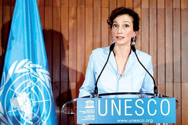 Audrey Azoulay reconduite pour un nouveau mandat    la t  te de l UNESCO