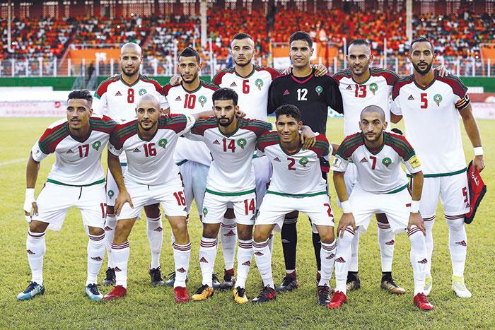 Match amical   Le Maroc s   incline face    la Zambie