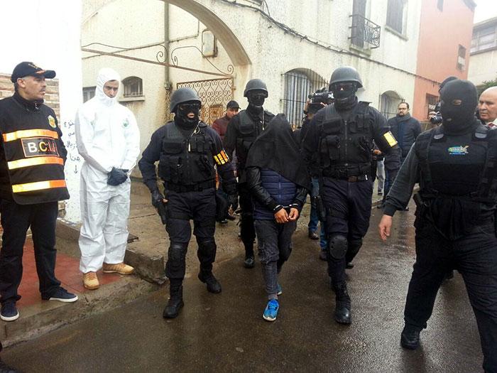 BCIJ  Arrestation d un extr  miste alli  s     Daech   actif dans la ville de Guelmim