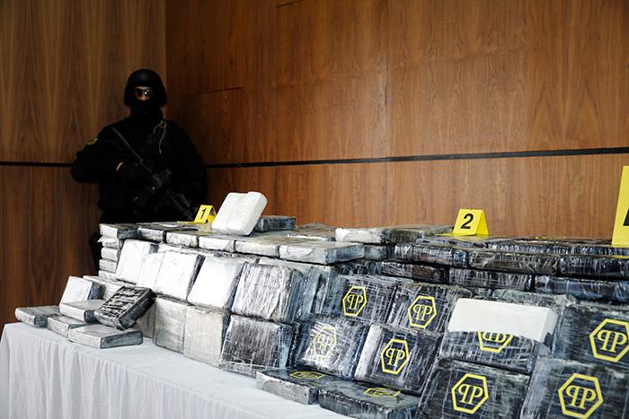 Saisie de 476 kg de coca  ne dans un appartement    Harhoura