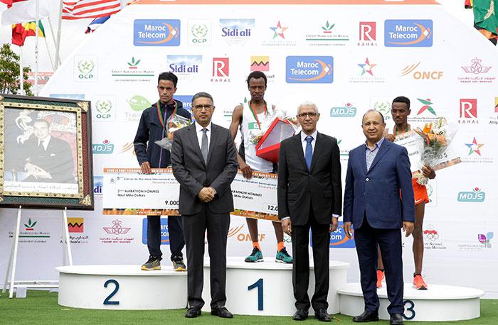 Marathon international de Rabat   deux nouveaux records et une bonne prestation des Marocains
