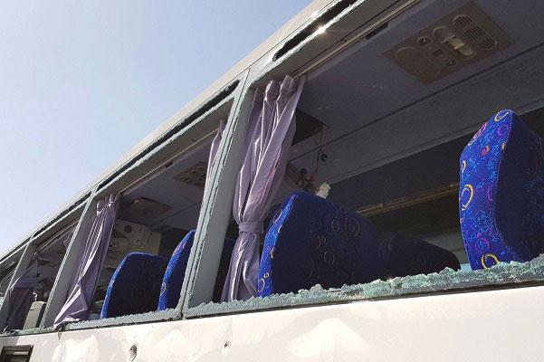 Egypte  Au moins 16 bless  s dans une explosion visant un bus de touristes au Caire
