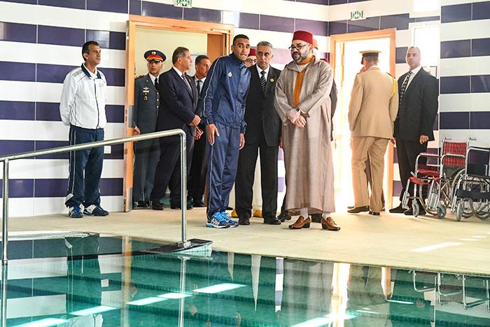 Casablanca  SM le Roi inaugure le Centre National Mohammed VI des Handicap  s