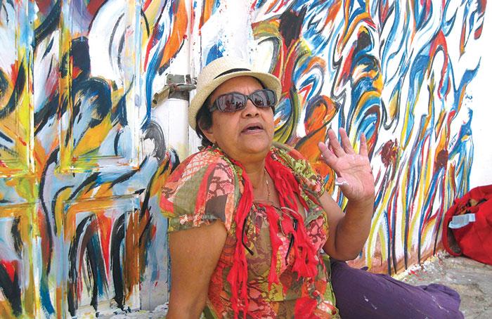 Najia Bennis  L artiste qui peint la vie