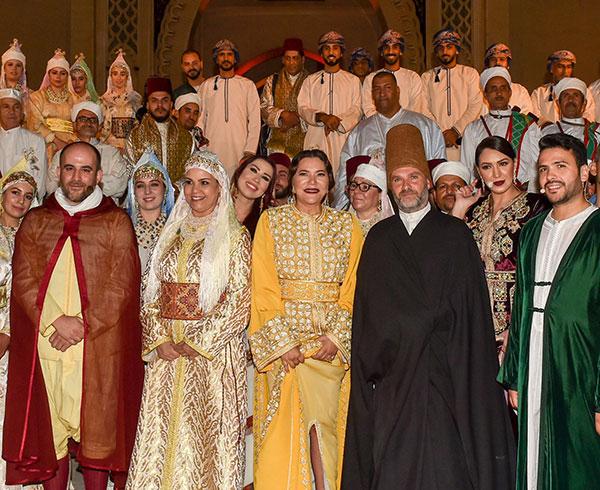 F  s   la Princesse Lalla Hasnaa pr  side l ouverture du festival des musiques sacr  es du monde