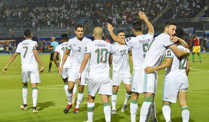 CAN-2019  L Alg  rie bat le Nigeria et rejoint le S  n  gal en finale