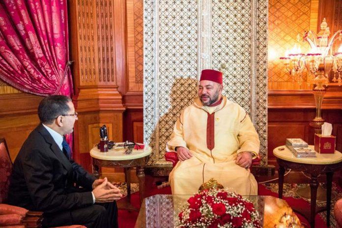 SM le Roi Mohammed VI re  oit Saadedine Othmani