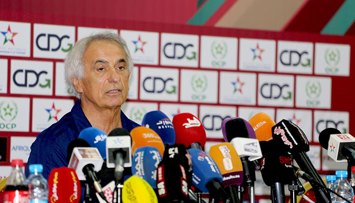 Vahid Halilhodzic victorieux contre la guin  e  mais remont   contre la presse
