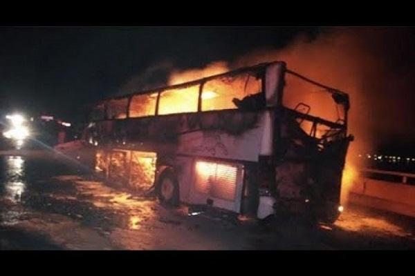 Arabie Saoudite  35 morts dans la collision entre un autocar et un engin de chantier