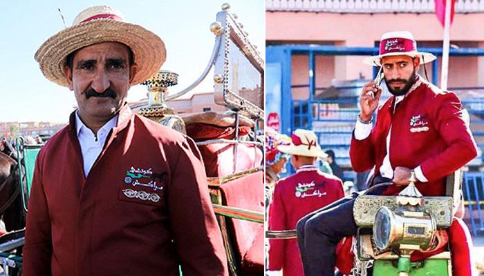 Marrakech  les conducteurs des cal  ches ont d  sormais un uniformes