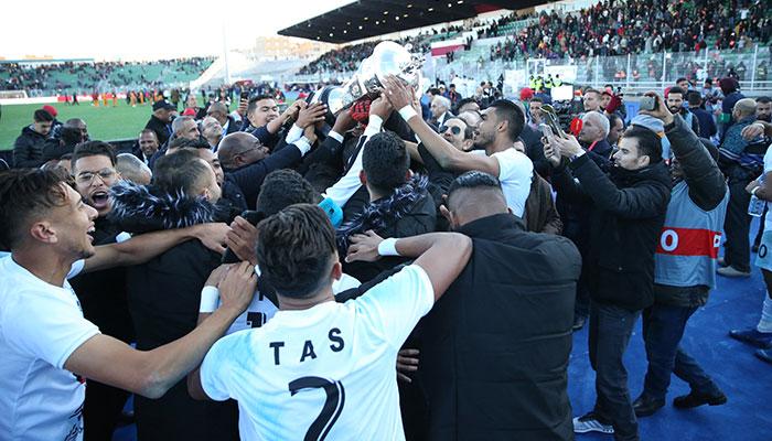 Coupe du Tr  ne 2019  Le TAS de Casablanca remporte le titre