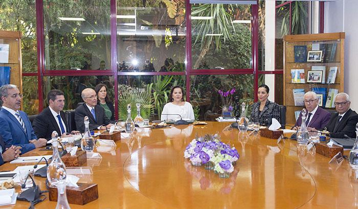 Environnement  la Princesse Lalla Hasnaa pr  side le Conseil d administration