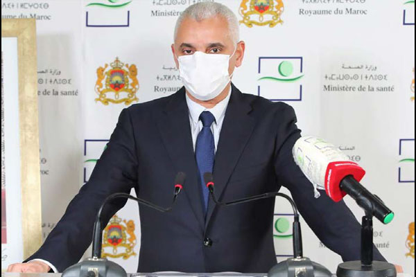 Khalid A  t Taleb s explique sur l   volution de la situation sanitaire