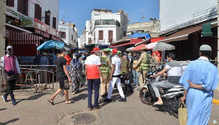 Casablanca   plusieurs quartiers de l arrondissement d Anfa boucl  s