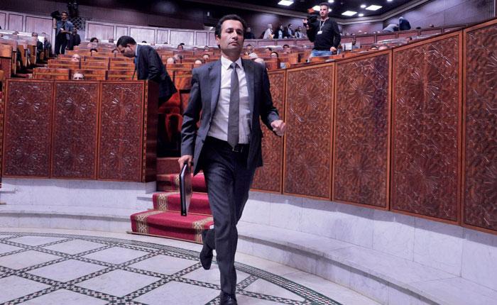 Mohamed Bencha  boun d  fend son projet de budget devant les conseillers
