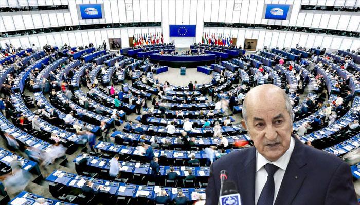 R  pression  d  tournement    L   Europe presse le pouvoir alg  rien