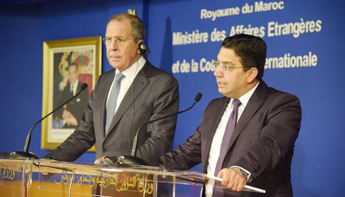 Maroc-Russie  De l eau dans le gaz