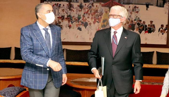 M  Hammouchi re  oit    Rabat l ambassadeur des Etats-Unis au Maroc