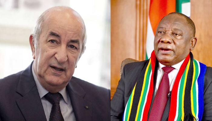Tebboune et Ramaphosa font leur num  ro