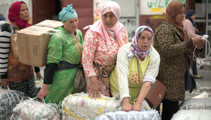 Le malaise social aux postes fronti  res Bab Sebta et Melilia et dans les march  s informels