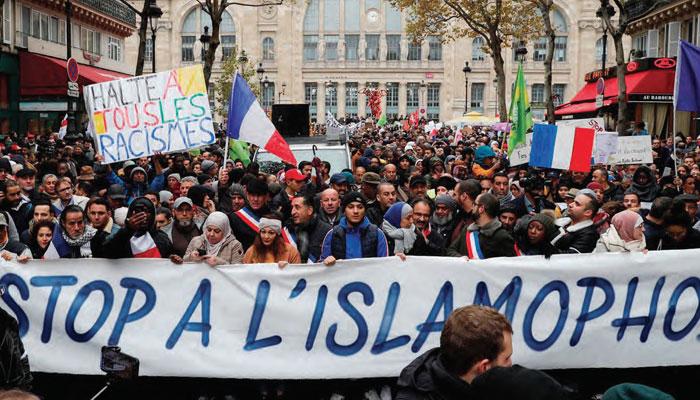 Une mar  e de haine et de rejet s abat sur les musulmans de France