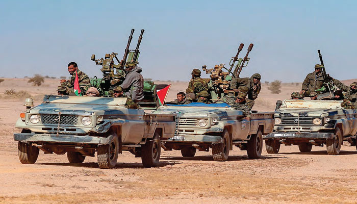 Le Polisario agresseur    Guergarat