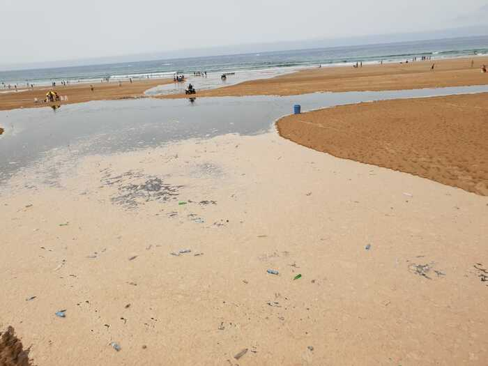 Baignade    haut risque    Agadir    Reportage photo