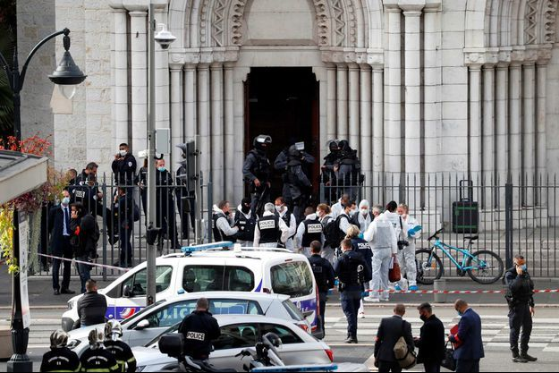 La France cible de trois attentats terroristes ce jeudi