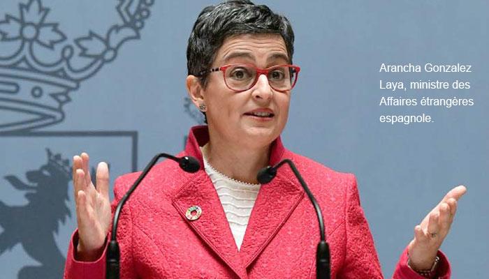 Affaire d entr  e secr  te et ill  gale de Brahim Ghali en Espagne  Arancha Gonzalez Laya au banc des accus  s