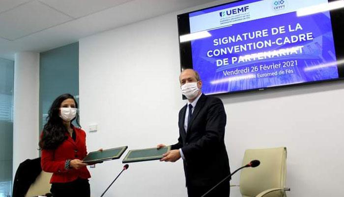 L OFPPT et l Universit   Euromed soutiennent l entrepreneuriat