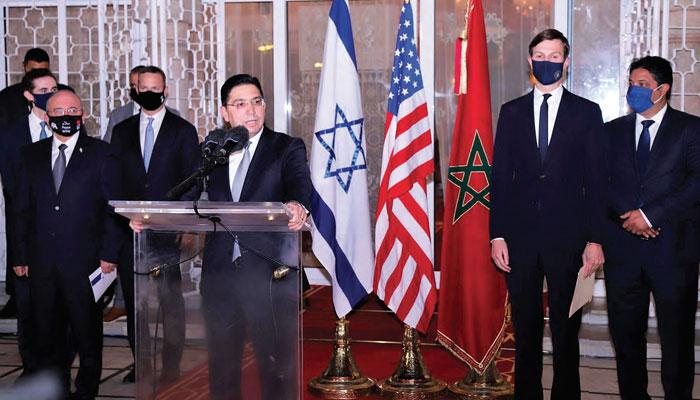 Maroc-Isra  l  Et la Palestine dans tout cela