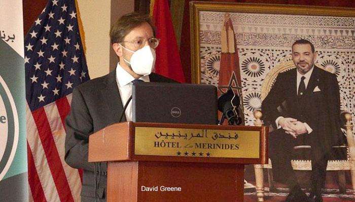 Visite    F  s de David Greene  le charg   d affaires de l ambassade des   tats-unis